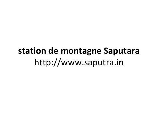 station de montagne Saputara http://www.saputra.in