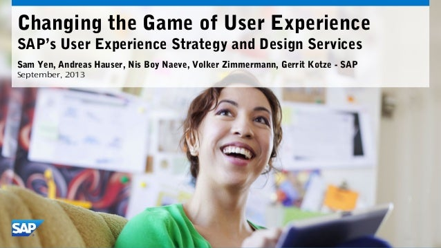 Changing the Game of SAP User Experience