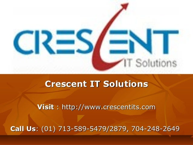 SAP WM Online Training and Placement Support @ Crescent IT Solutions