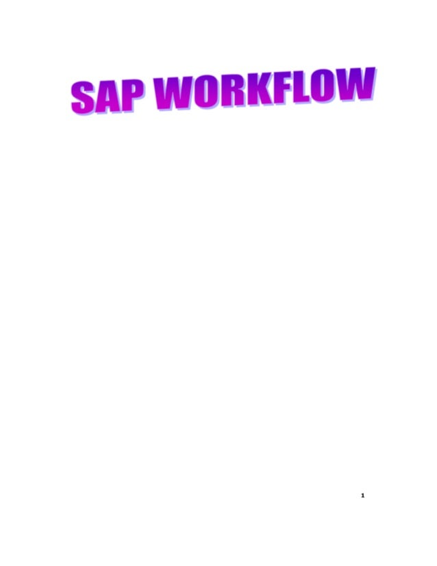 Preview Original paying document published on :http://expertplug.com/materials/training/sap-workflowYou can find many more...