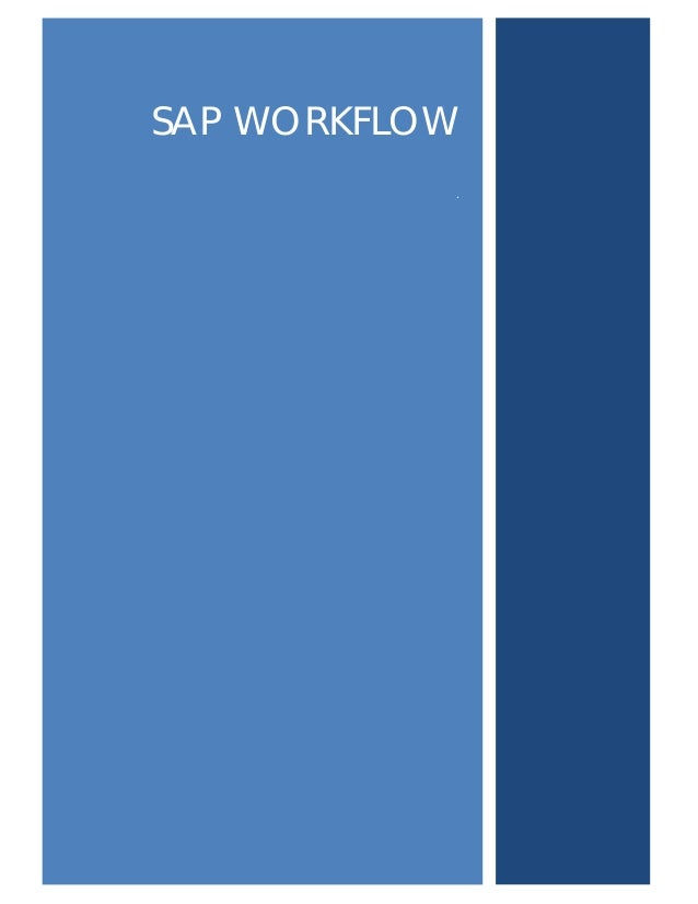 Sap workflow training