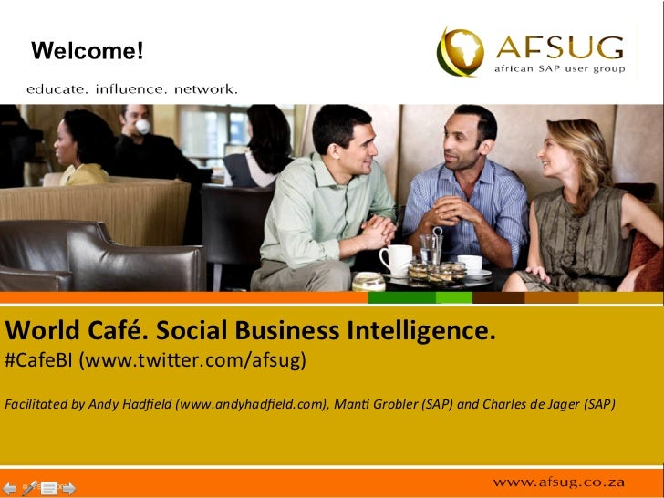 AFSUG Cafe BI - Andy Hadfield