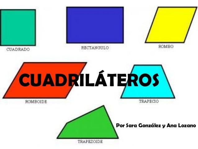CUADRILÁTEROS        Por Sara González y Ana Lozano