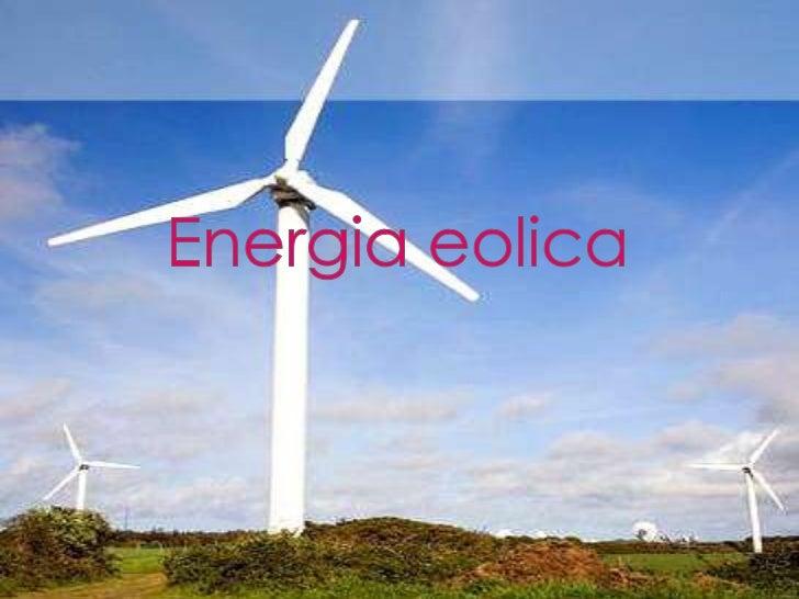 Sara energia eolica