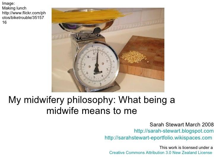 Sarah Stewart: My Midwifery Philosophy