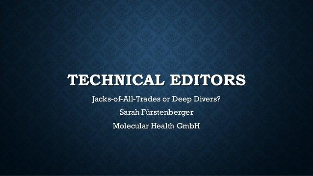 Technical editors