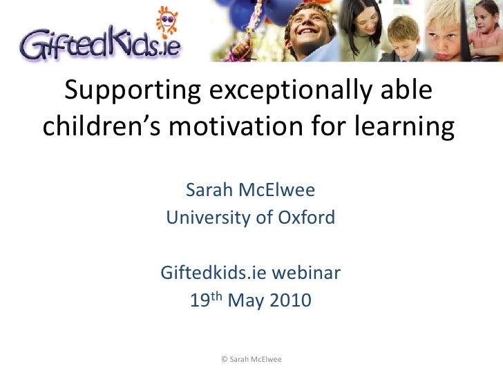 Sarah mcelwee motivation presentation 160610