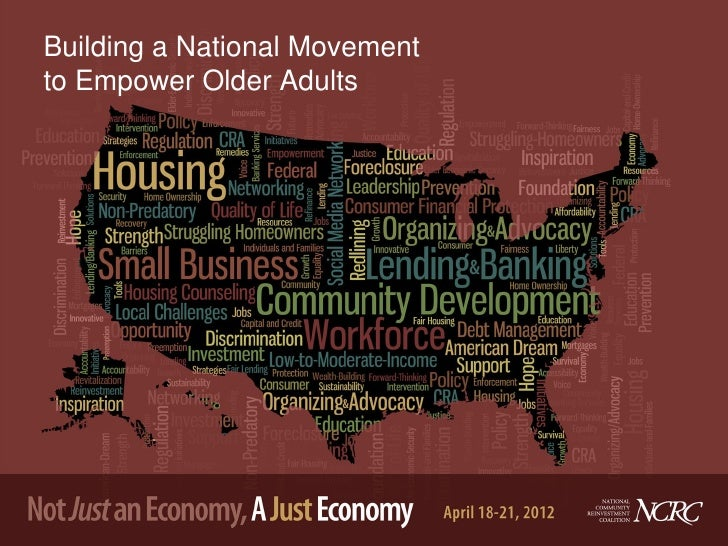 Building a National Movementto Empower Older Adults