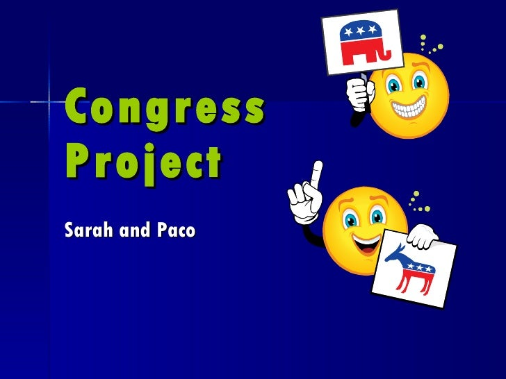 Congress Project Sarah and Paco