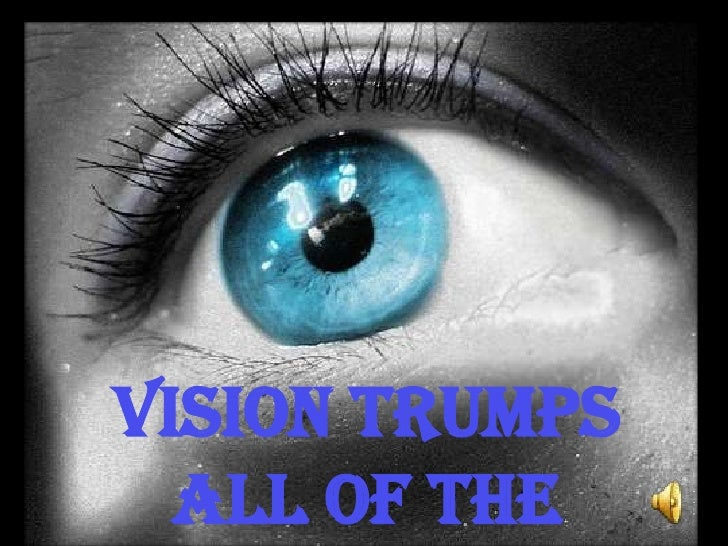 Vision Trumps All of The other Senses<br />