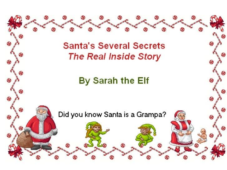 Sarah's Santa Story