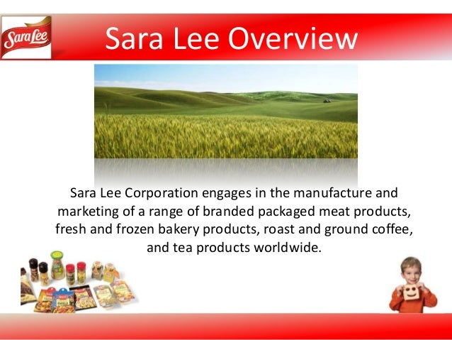 Sara lee corporation swot analysis essay
