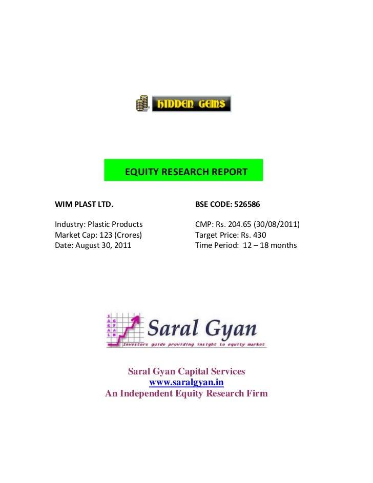 Saral Gyan Hidden Gems - Aug 2011