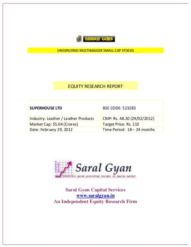 Saral Gyan Hidden Gem - Feb 2012