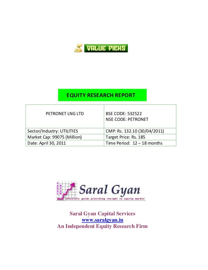 Saral Gyan Value Picks April 2011