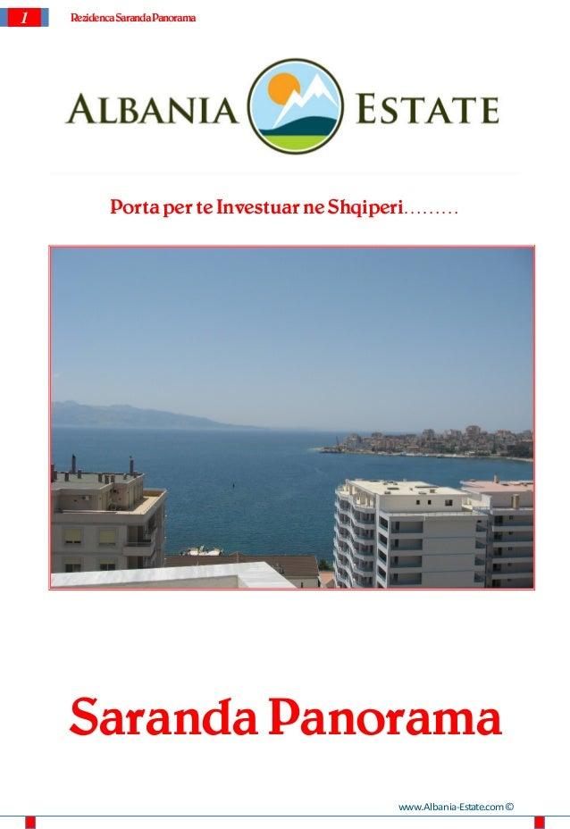 1   Rezidenca Saranda Panorama            Porta per te Investuar ne Shqiperi………    Saranda Panorama                       ...