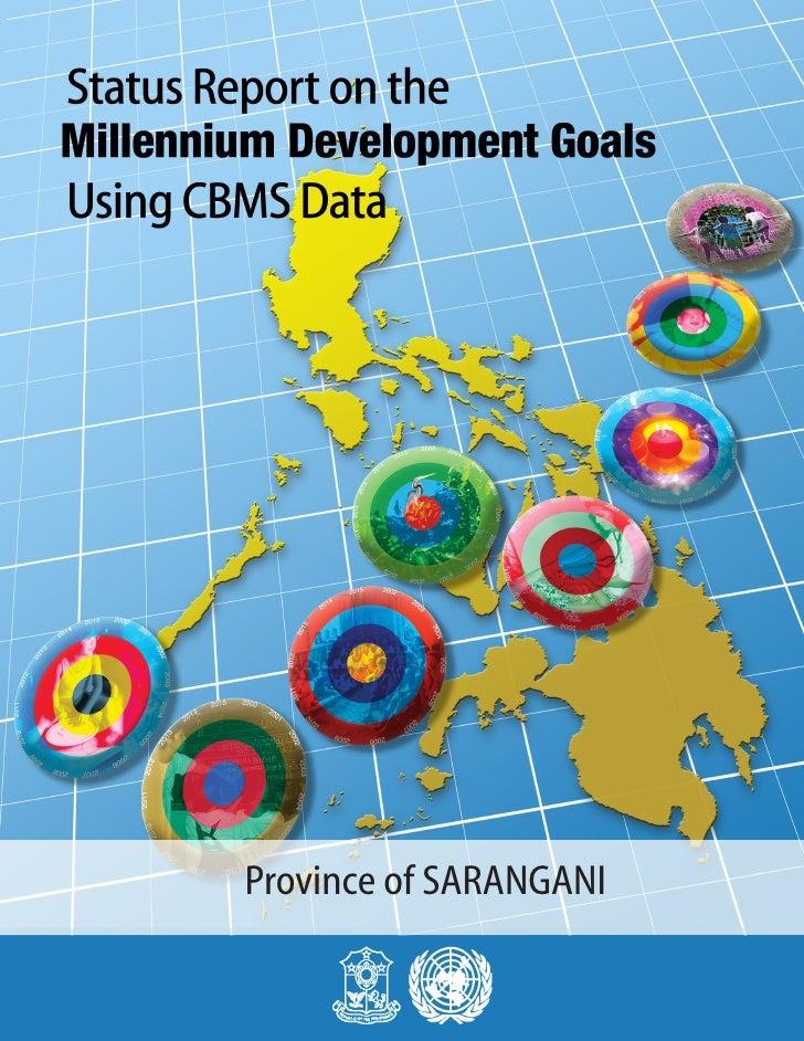 MDGs Provincial Status Report 2010 Philippines Sarangani