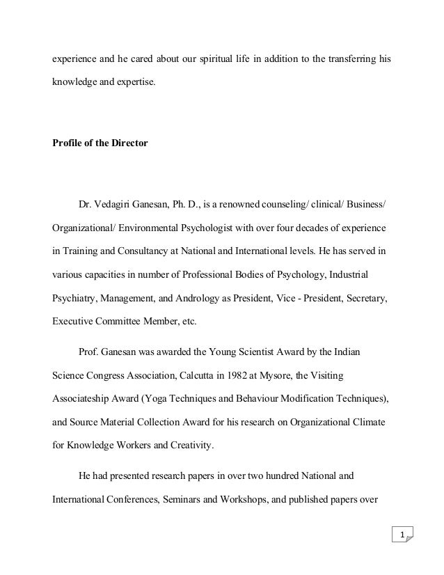 Counseling Psychology writing good composition