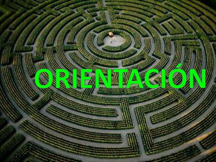 ORIENTACIÓN<br />