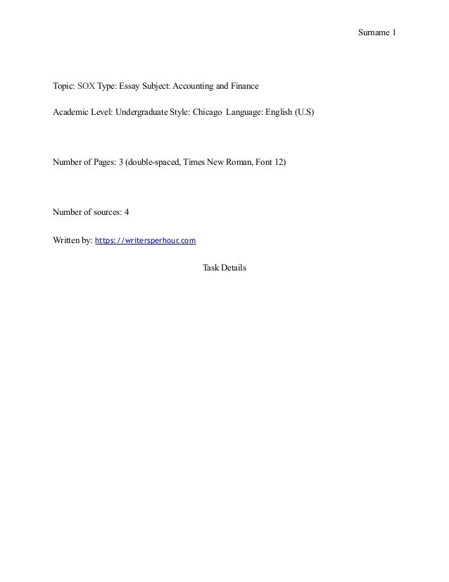 chicago manual of style research paper format