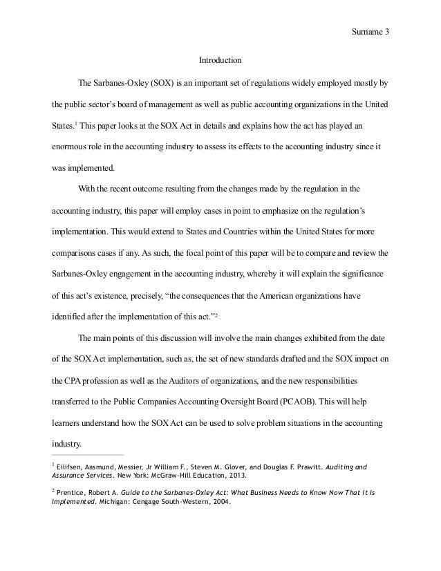 business essay format