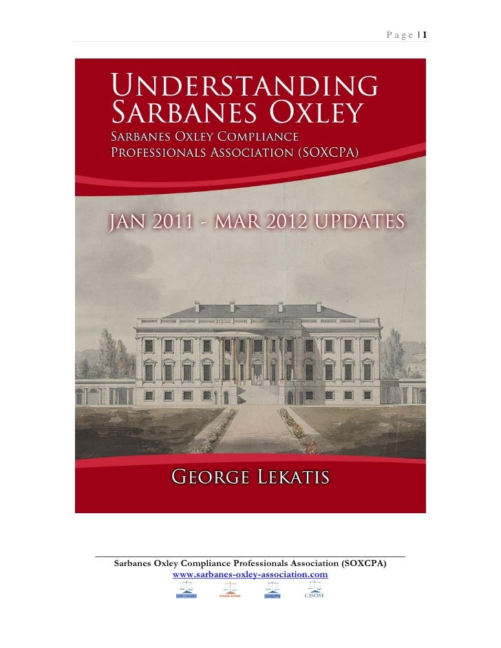 Sarbanes Oxley Ebook