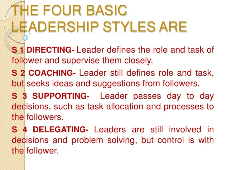 leadership paper and presentation Effective leadership : effective leadership what is a leader not necessarily a manager an individual who leads and guides others to pre-defined, designated destinations markedly influence the behaviors, thoughts and/or feelings of a significant number of their fellow human beings far more than just thinking, developing plans, analyzing and strategizing what is an effective leader.