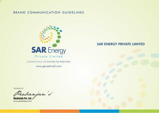 SAR ENERGY Brand Guideline - Prabanjan's