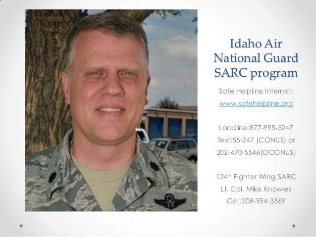 124th Fighter Wing SARC program FY 2014