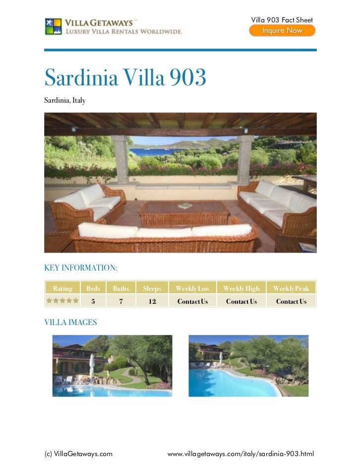 Sardinia villa 903,italy