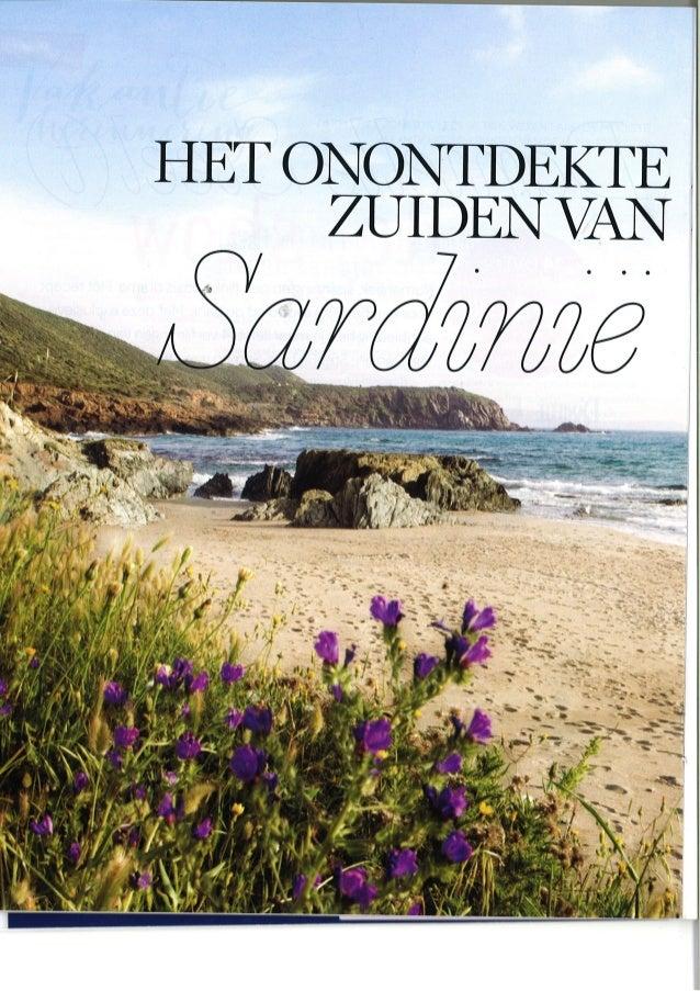 Sardinietrips - Het Onontdekte Zuiden Van Sardinie - Flair
