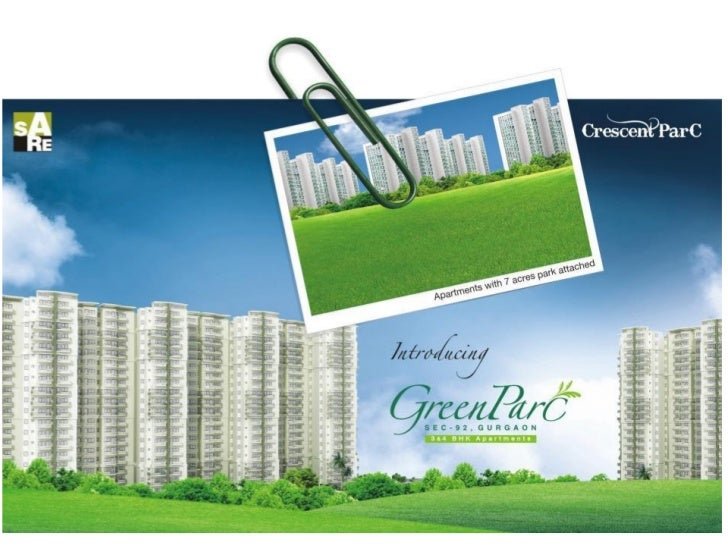 Sare crescent parc residential gurgaon 9811 822 426