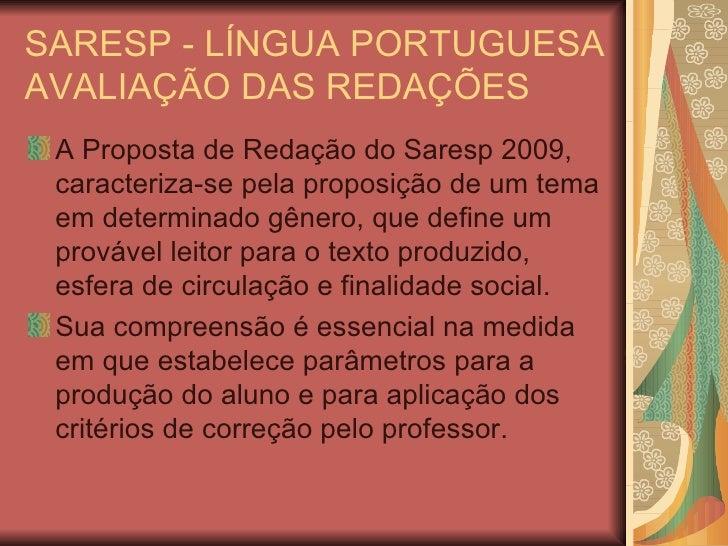 Saresp   LíNgua Portuguesa.23.11.09