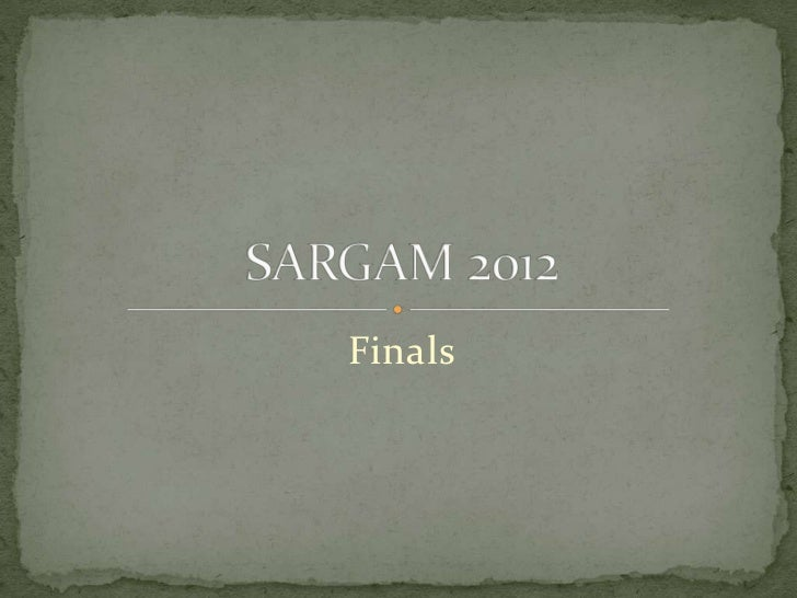 Sargam quiz elimination returns