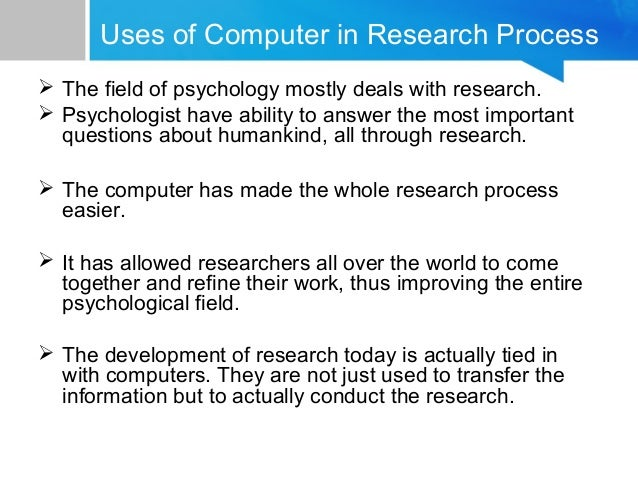 The Field of Psychology?