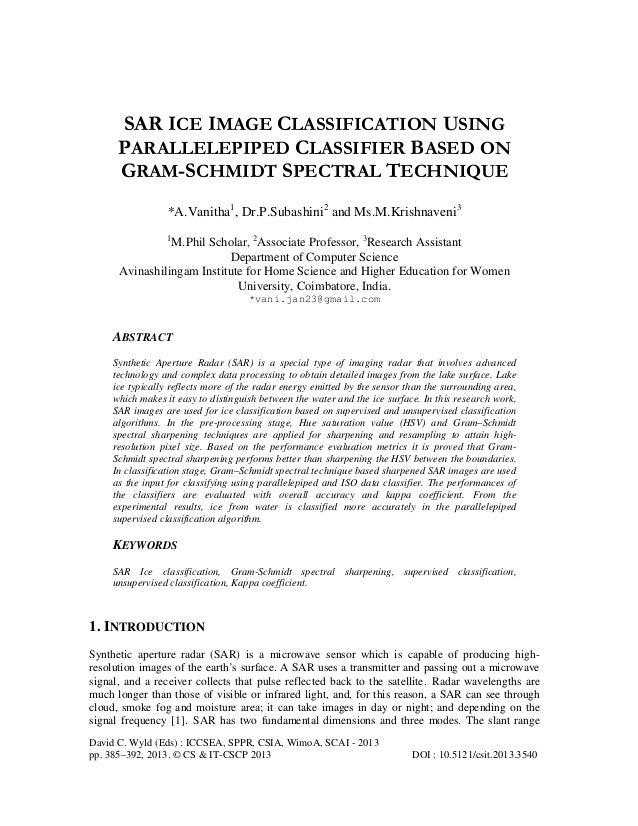 David C. Wyld (Eds) : ICCSEA, SPPR, CSIA, WimoA, SCAI - 2013 pp. 385–392, 2013. © CS & IT-CSCP 2013 DOI : 10.5121/csit.201...