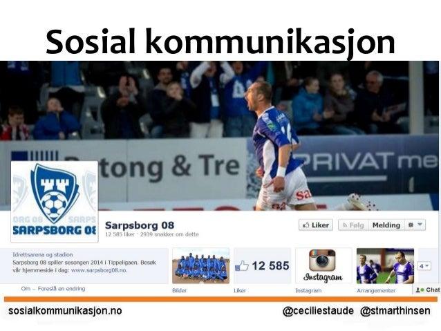 Hvordan kan fotballsponsorer ta i bruk sosiale medier?