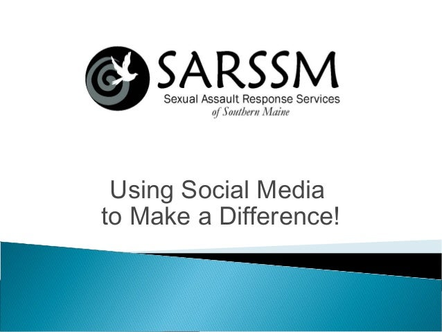 Using Social Media to Make a Difference!