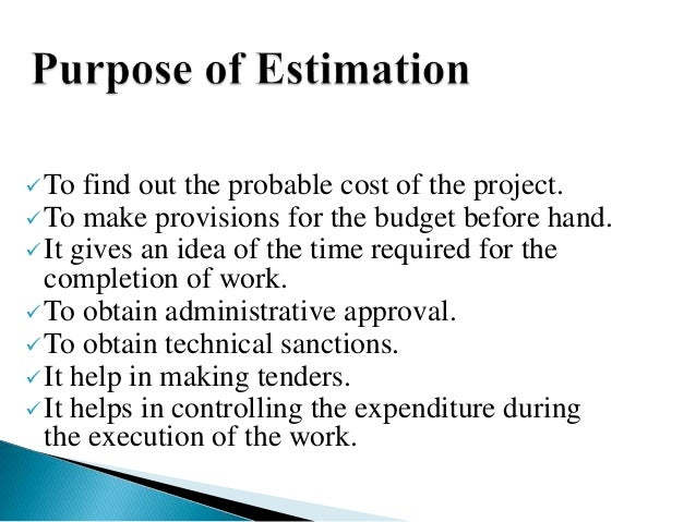 Estimate interior design student work Estimation and costing in interior designing
