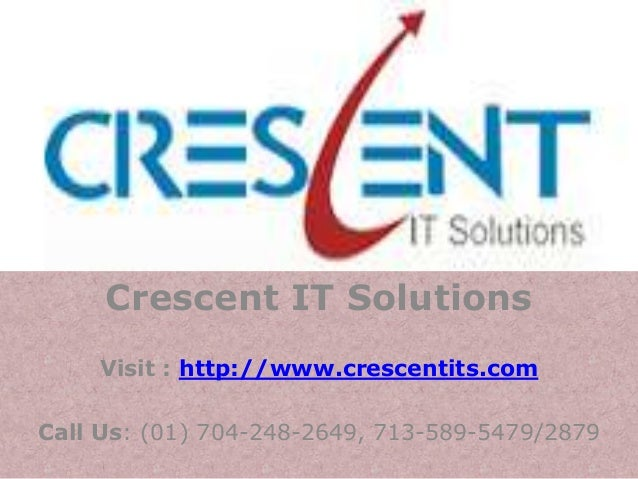 SAS Online Training and Placement @ Crescent IT Solutions