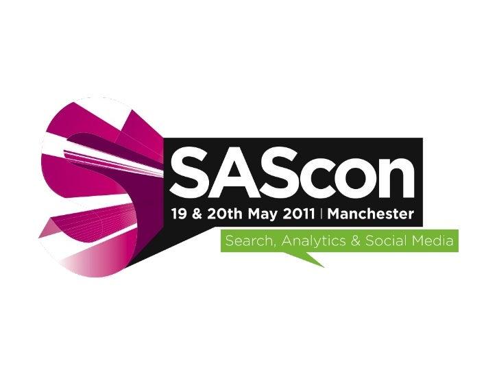 Sascon 20/05 Room 1 Introduction