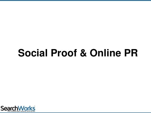 Social Proof & Online PR