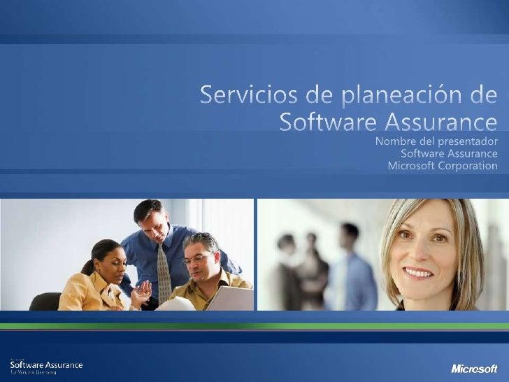 """""""Software Assurance le ayuda a elevar la productividad de todasu empresa con beneficios que le ayudan a maximizar el valor..."""