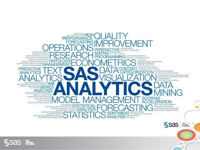 SAS Forum India - SAS Visual Analytics - 'Visualize This!'