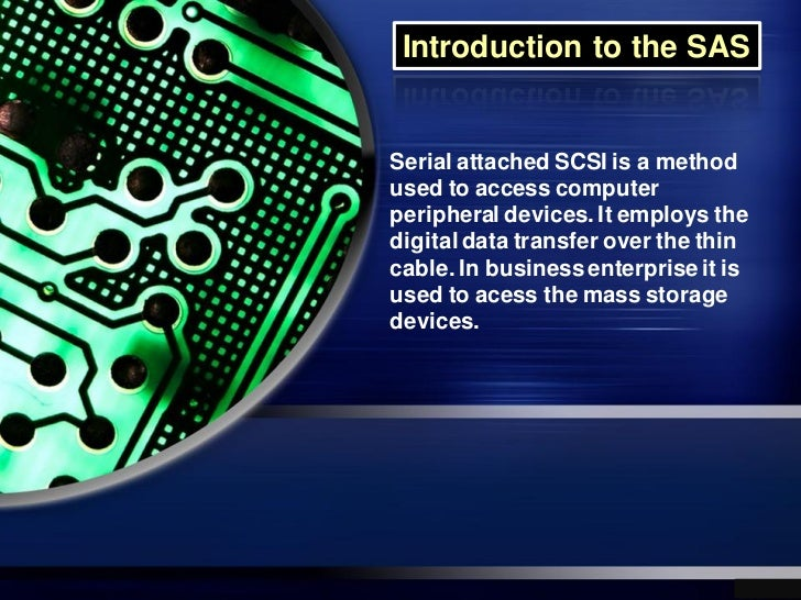 Introduction to the SAS