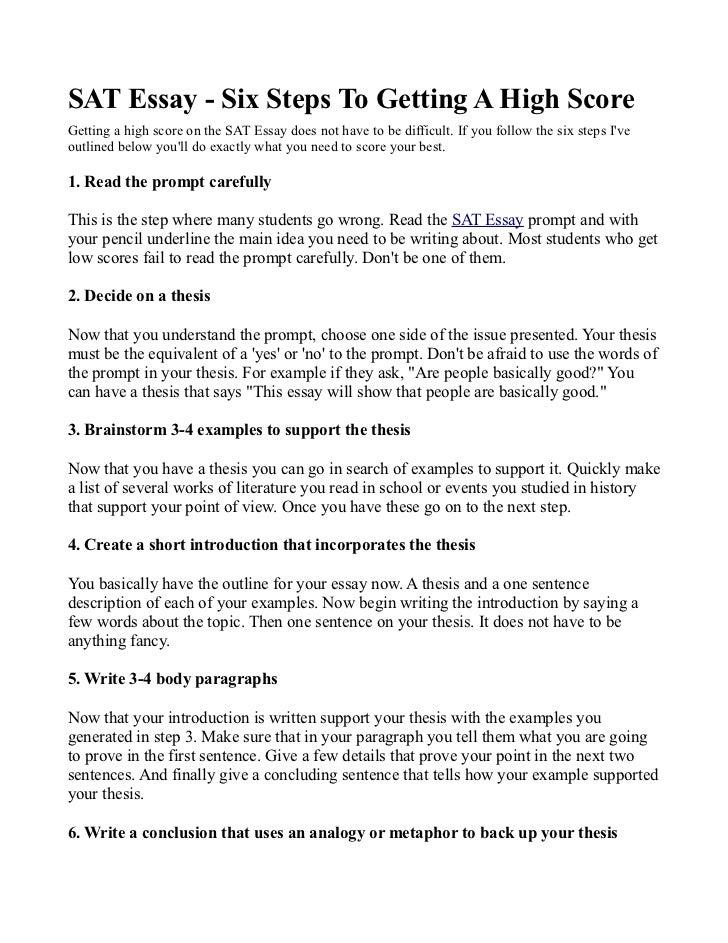 Sat 5 Essay Types - image 3