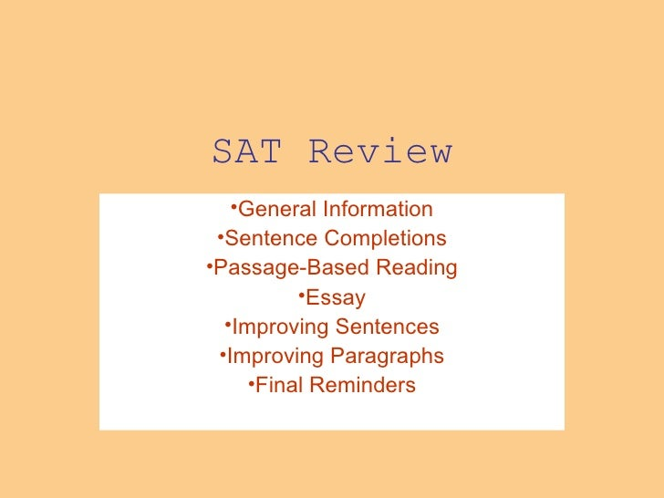 S A T  Review
