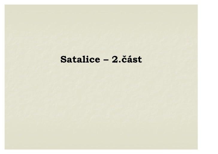 Satalice - 2. část : škola, kultura