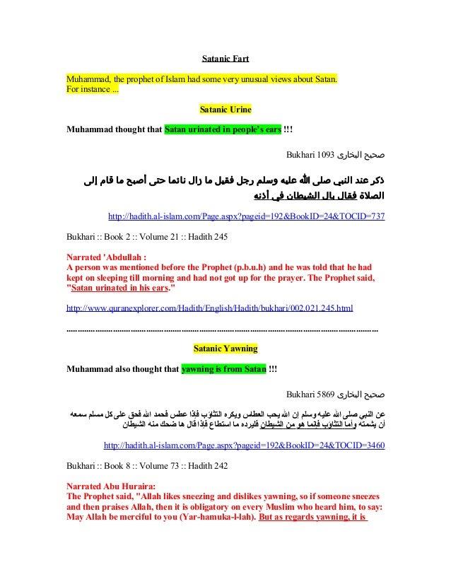 Satanic Fart in Islam