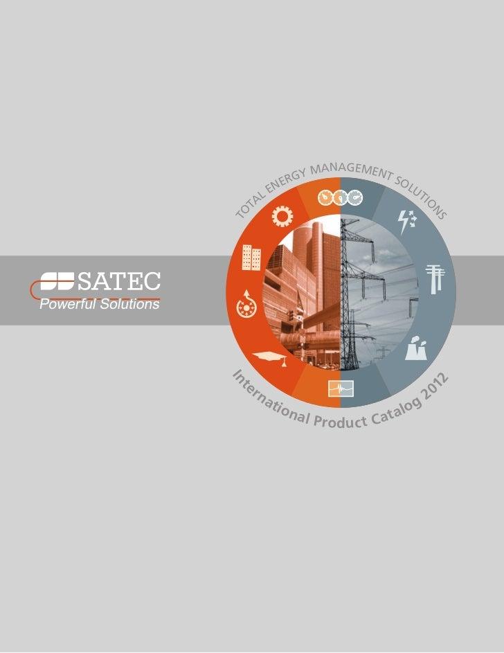 Catálogo Satec 2012